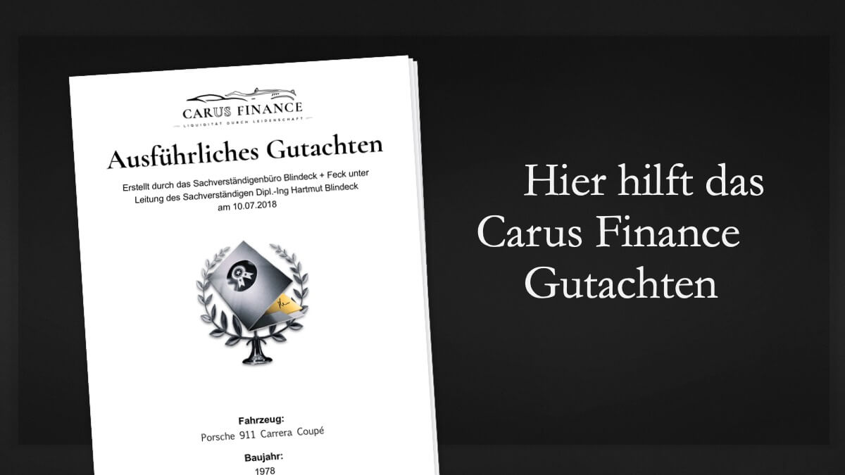 Carus Finance Gutachten 5