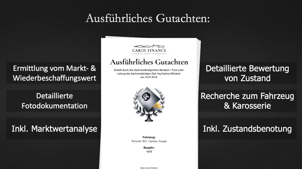 Carus Finance Gutachten 8