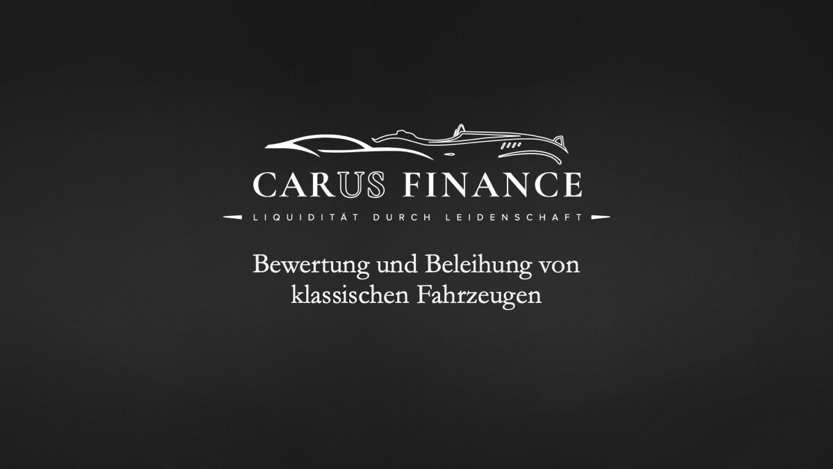 Carus Finance Marktwertanalyse 1