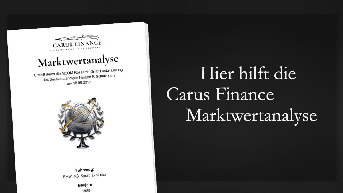 Carus Finance Marktwertanalyse 8