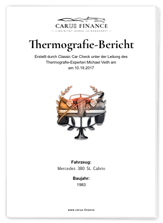 Carus Finance Thermografie-Bericht Cover